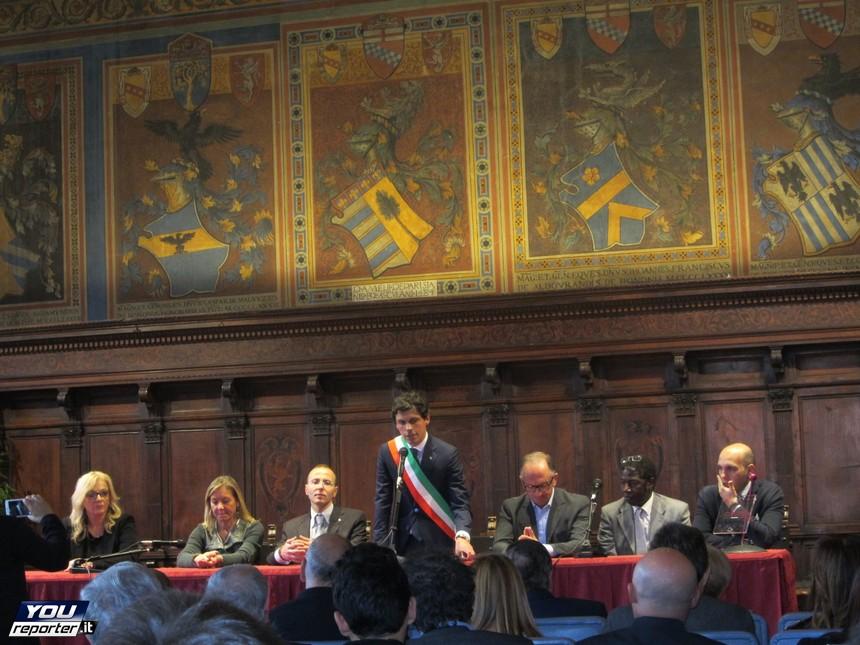 A palazzo dei Priori consegnati i Premi Città di Perugia ...