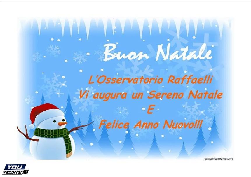Auguri Di Buon Natale Felice Anno Nuovo.Auguri Di Buon Natale E Felice Anno Nuovo Da Parte Nostra Youreporter