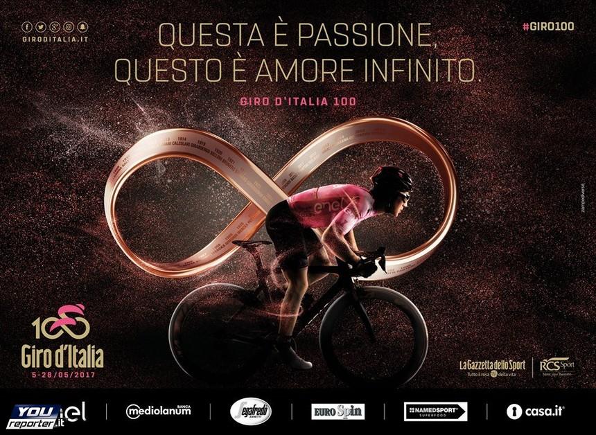 Giro D Italia 100 Infinito Come L Amore Per Lo Sport Youreporter
